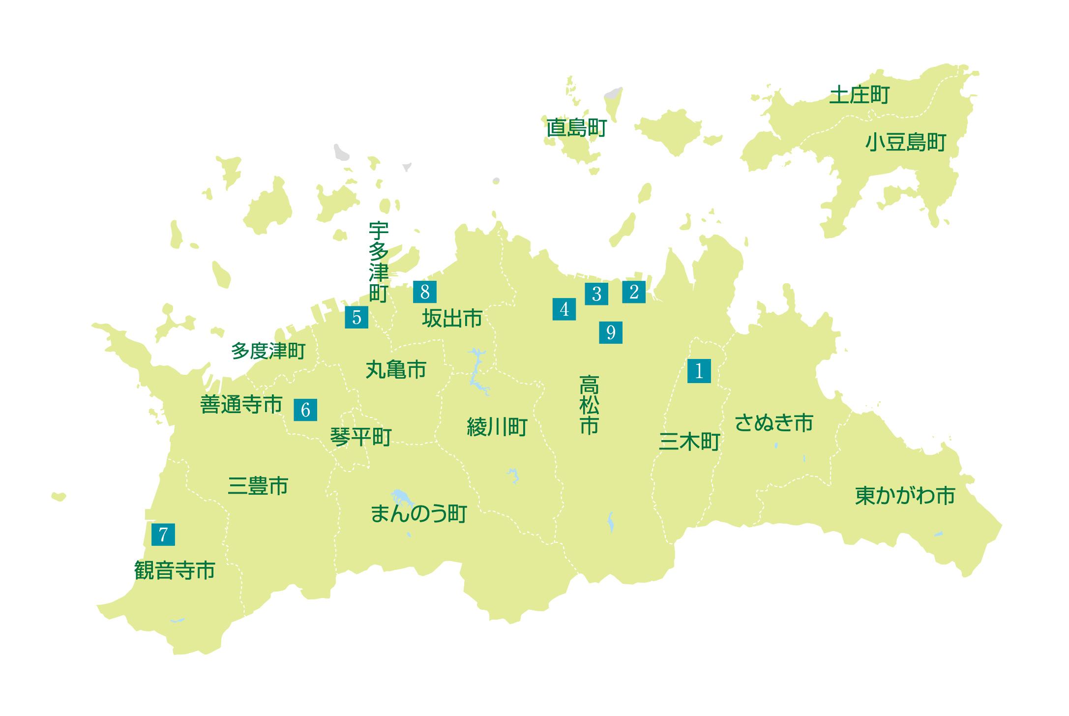 臨床研修病院マップ